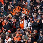 Cincinnati Bengals fans at football game