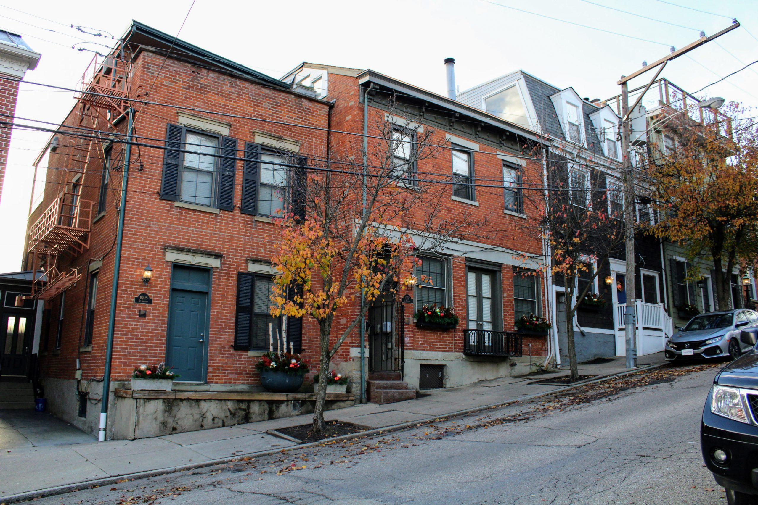 affordable Cincinnati neighborhood street