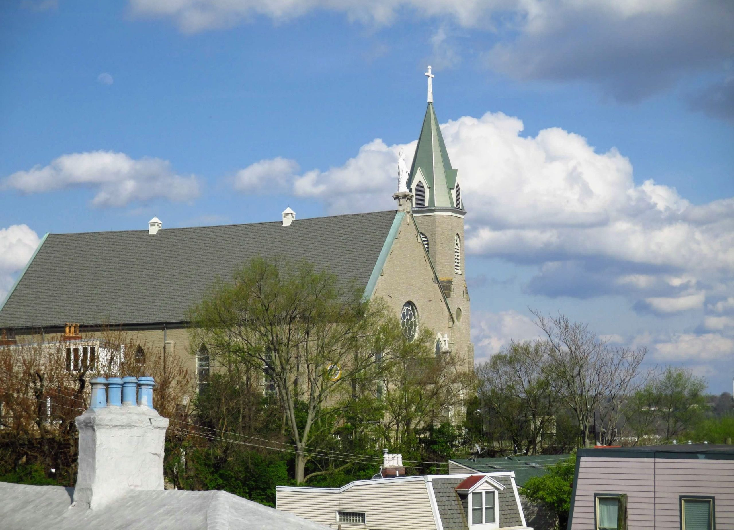 holy cross immaculata church on the hill