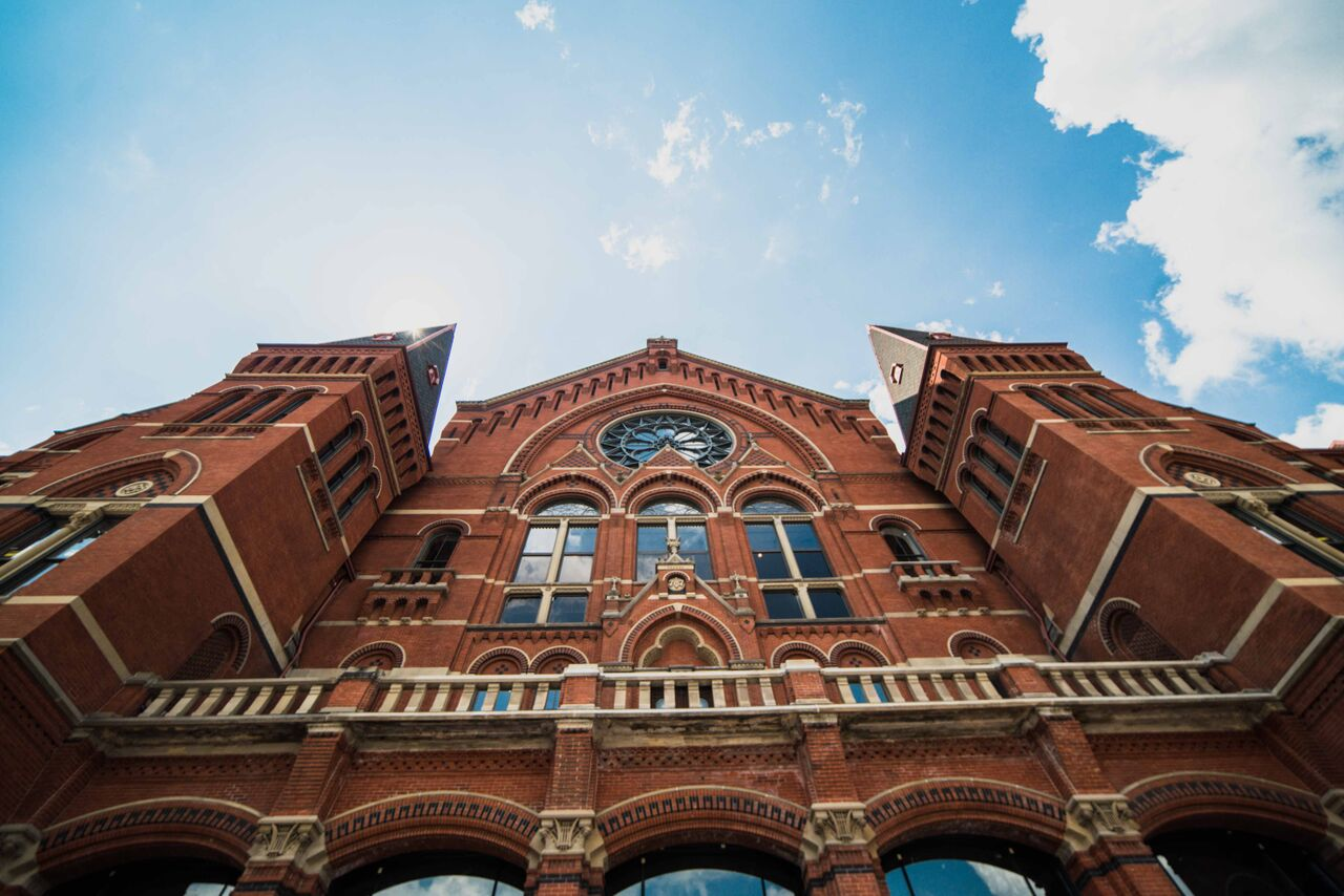 Is cincinnati a good place to live? Check out Music Hall.
