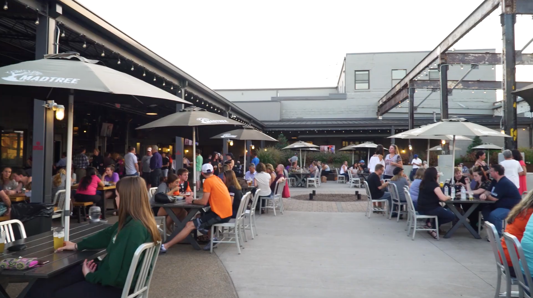 Madtree Brewery outside patio